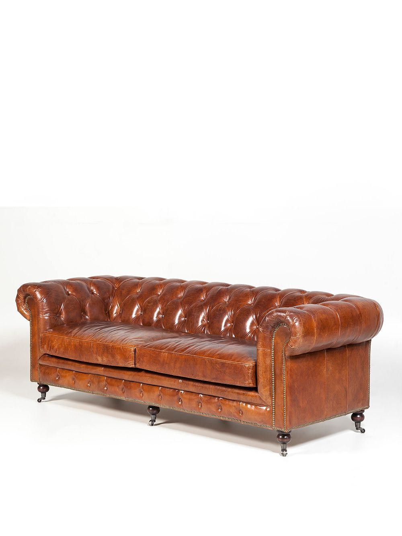 Landmark-Muebles-ChesterfieldCigar240-Sofa-0