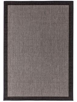 Mihran-Alfombra-SISALO-GRIS-TOPO-GUARDA-OSCURA-Textura-0